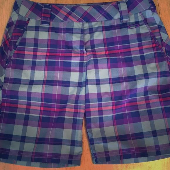 oakley womens golf shorts
